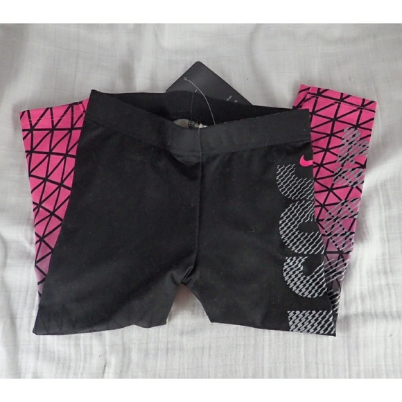 f35f45679a73e Nike Bottoms | Dri Fit Blackpink Ombre Leggings 3t Nwt | Poshmark